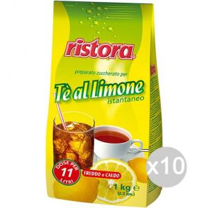 Set 10 RISTORA The Busta Kg 1 Limone Bevanda Bibita Analcolica