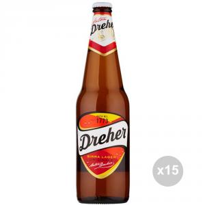 Set 15 DREHER Birra in bottiglia 66cl bevanda alcolica da tavola