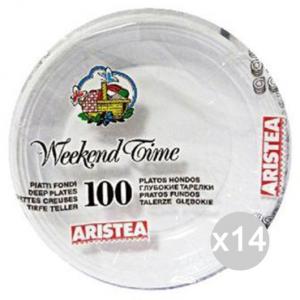 Set 14 ARISTEA 100 Piatto Fondo Gr.7 Diametro 20 125705 Tavola E La Cucina