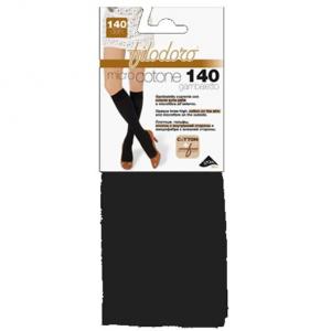 Set 2 FILODORO Micro Cotone 140 Tg 4L Carbon Calze Collant Da Donna Abbigliamento