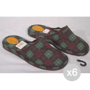Set 6 FIALPET Slippers 200 36 Sole Felt Footwear Closed For Home
