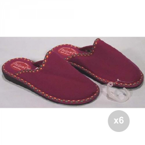 Set 6 FIALPET Ciabatte 123 39 suola in gomma chiuse pantofole da casa