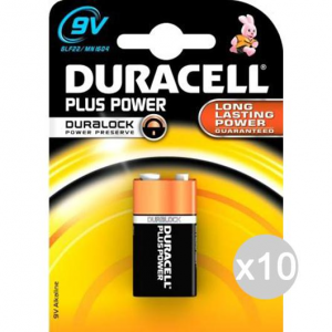 Set 10 DURACELL 1 Transistor Mn1604 9V Battery Stack Electric