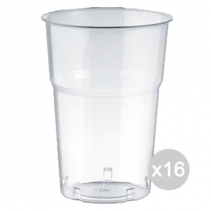 Set 16 ARISTEA 50 575 Cc Glass Clear Beer Pet Accessories For Kitchen And Table
