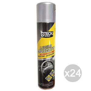 Set 24 Bong B-Teck Spray Cruscotti Ml 300 Pulizia Dell'Auto