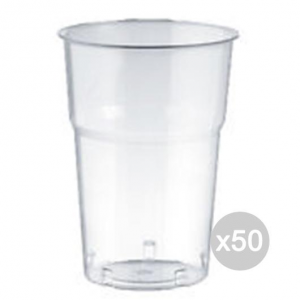 Set 50 ARISTEA 20 250 Cc Glass Clear Beer Pet Accessories For Kitchen And Table