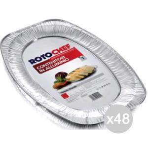 Set 48 ROTOFRESH Vassoio Alluminio C14 Portata Grand X1 Preparazione Cibi E Cucina