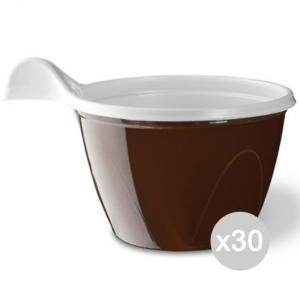 Set 30 ARISTEA 25 Tazzine Cappucc Bicolore Accessorio Per La Tavola E La Cucina