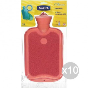 Set 10 Hot Water Bag Mapa Lt 2 Rubber Personal Care