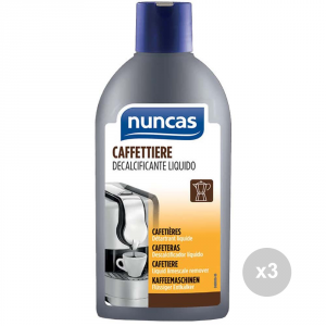 Set 3 NUNCAS Coffee 250 ml descaling product for cleaning house