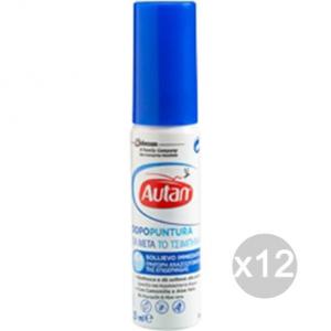 Set 12 AUTAN Mini Spray 25 Ml Dopopuntura Repellente Insetticida