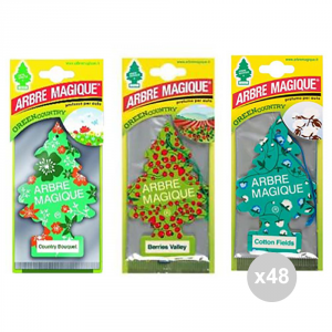 Set 48 ARBRE MAGIQUE X1 eco green assortito fragranza per ambienti