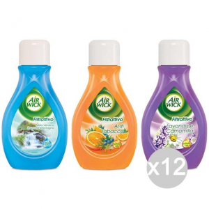 Set 12 AIR WICK Filtrattivo Liquid Mixed Box 375 Ml Fragrance Of The House