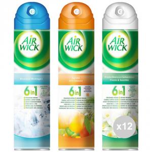 Set 12 AIR WICK Deodorant spray citrus-freesia-breeze fragrance mix 1 environments