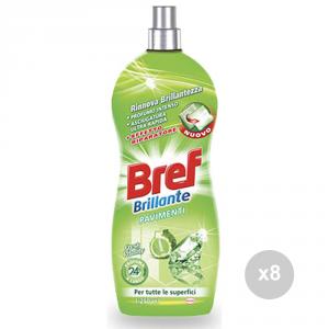 Set 8 BREF Brillante pavimenti fresh vitality 1,250 prodotto per la pulizia della casa