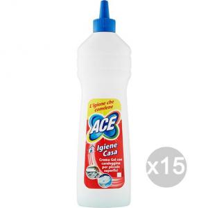 Set 15 ACE Crema Gel Ml 500 Igiene Casa Detersivi E Pulizia Della Casa