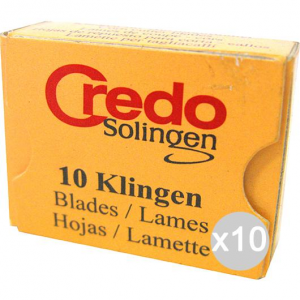 Set 10 CREDO Lame Callus X 10 2513 Pedicure And Care Of The Feet