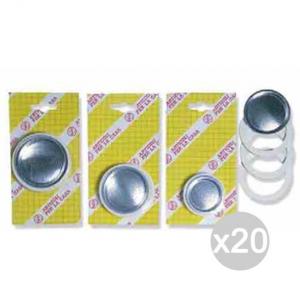 Set 20 Moka Guarnizioni +Filtro 1 Tazze 0495 Accessorio Per La Cucina Preparazione Caffè