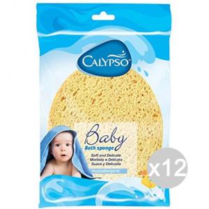 Set 12 CALYPSO Spugna Bagno Baby Bagno Ovale Igiene E Cura Del Bambino