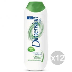 Set 12 DIMENSION Shampoo Per Capelli Grassi Verde By Lux Cura E Trattamento Dei Capelli