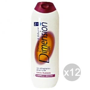 Set 12 DIMENSION Shampoo Per Capelli Secchi Viola By Lux Cura E Trattamento Dei Capelli