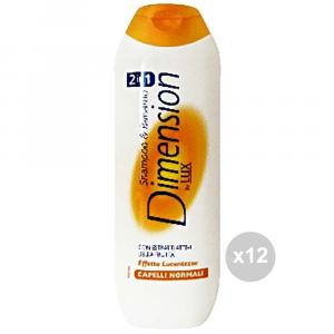 Set 12 DIMENSION Dimension shampoo capelli normali arancio cura dei capelli