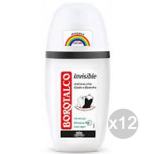 Set 12 BOROTALCO Deodorante Spray Invisible Ml 75 Cura E Igiene Del Corpo