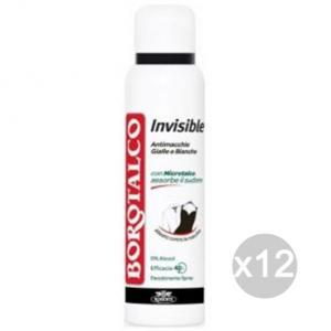 Set 12 BOROTALCO Deodorante Spray Invisible A/Macchia 125 Cura E Igiene Del Corpo