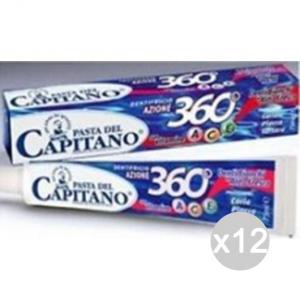 Set 12 CAPITANO Dentifricio Azione 360 Gradi 75 Ml Igiene E Cura Dei Denti