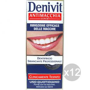 Set 12 DENIVIT Dentifricio Antimacchia 50 Igiene E Cura Dei Denti