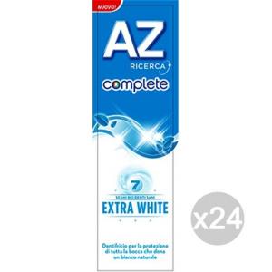 Set 24 AZ Dentifricio Complete Extra White 75Ml Igiene E Cura Dei Denti