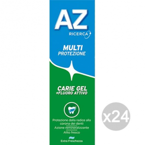 Set 24 AZ Dentifricio Verde Gel Multi Prot Carie Classic Igiene E Cura Dei Denti