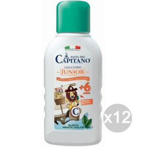 Set 12 CAPITANO Junior+6Y.O. Mouthwash 250Ml Children'S Health And Dental Care
