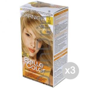 Set 3 BELLE COLOR 1 Biondo Chiaro Naturale Tinta E Colore Per Capelli