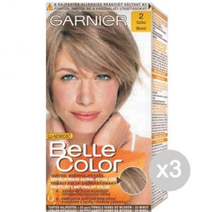 Set 3 BELLE COLOR 2 Biondo Tinta E Colore Per Capelli