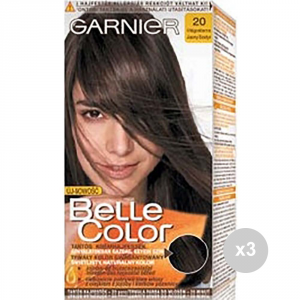 Set 3 BELLE COLOR Belle color 20 castano chiaro tinta colorata per capelli