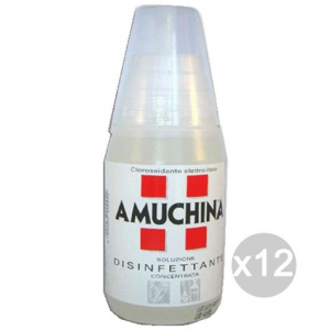 Set 12 AMUCHINA Disinfectant 250 Ml De Solution Parafarmacia