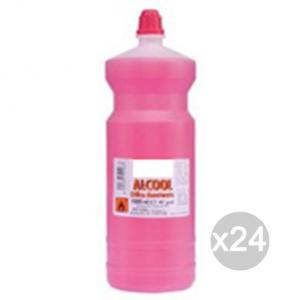 Set 24 EOS Alcool 750 Ml Denaturato Detersivi E Pulizia Della Casa