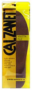 CALZANETTO Soletta Pile Prodotto Per Scarpe E Calzature