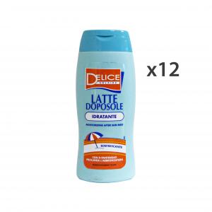 Set 12 DELICE Doposole latte idratante 250 ml. - Prodotti solari
