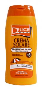 DELICE Fp6 crema solare 250 ml. - Prodotti solari