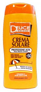 DELICE Fp50 crema solare 250 ml. - prodotti solari