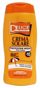 DELICE Fp15 Crema Solare 250 Ml Protezione Solare Estate