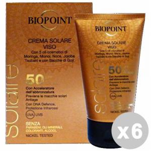 BIOPOINT Set 6 BIOPOINT Sun fp50 crema viso 50 ml. * - prodotti solari