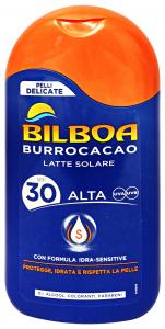 BILBOA Fp30 crema burrocacao 200 ml. - prodotti solari