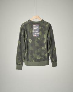 Felpa militare camouflage patch