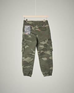 Pantalone militare con tasconi 2-7 anni