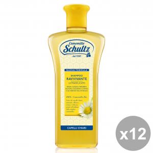 Set 12 CAMOMILLA SCHULTZ ShaMP HAIRoo Ravvivante Camomilla 250 Ml. Prodotti per capelli