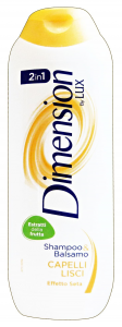 DIMENSION Shampoo 2/1 giallo cap.lisci 250 ml. - Shampoo capelli