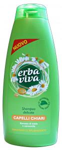 ERBA VIVA Shampoo Capelli Camomilla Capelli Chiari 500 Ml. Prodotti per capelli